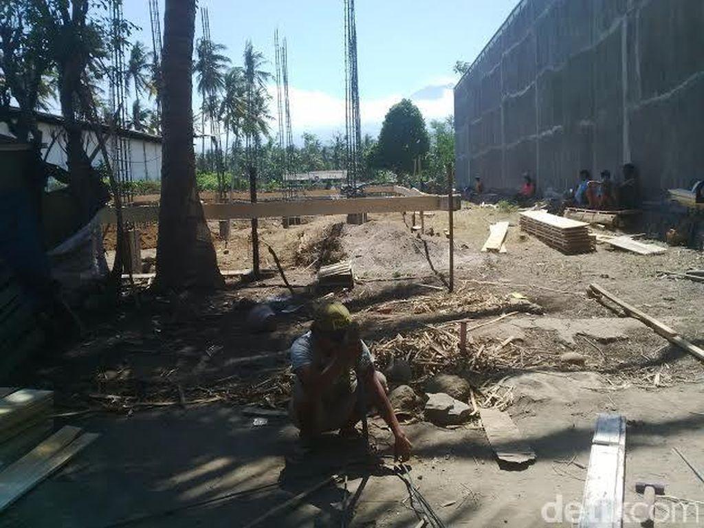 Tak Miliki Izin, Pembangunan Kantor Pemerintah Diprotes Warga