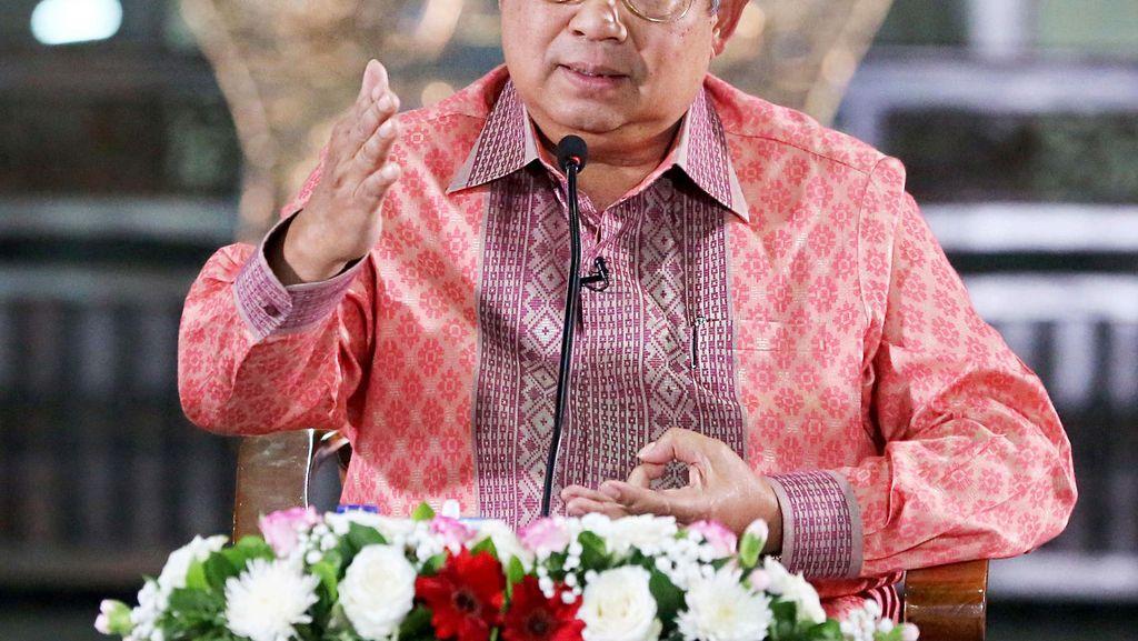 Bicara soal Perekonomian Indonesia, SBY: Pemerintah Kita Dukung Penuh
