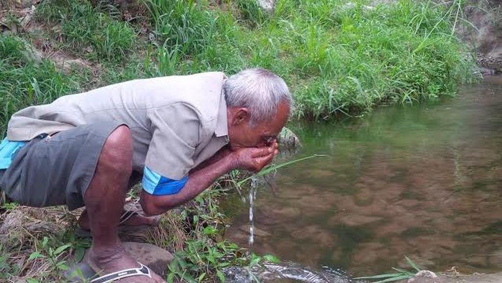 Tanpa Mbah Sadiman yang Tanam Beringin, Tak Ada Air dari Bukit Gendol