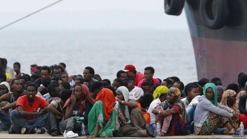 Kapal Angkut 200 Migran Tenggelam di Libya, 30 Orang Tewas