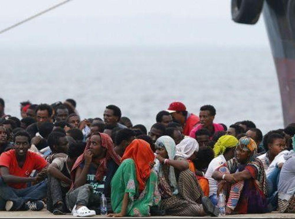Kapal yang Membawa 200 Migran Tenggelam di Libya, 30 Orang Tewas