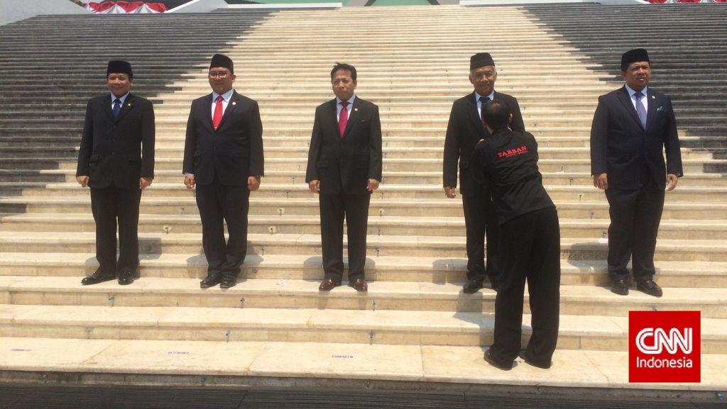 Pidato Lengkap Ketua DPR Peringati HUT ke-70 DPR