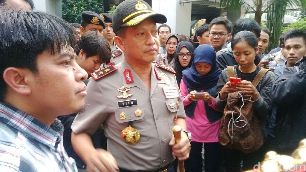 Kapolda Metro Imbau Buruh Demo di Silang Monas Agar Tak Macet di Hari Kerja
