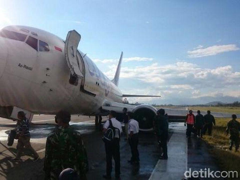 Cardig Air Tergelincir di Wamena, 3 Investigator KNKT Meluncur
