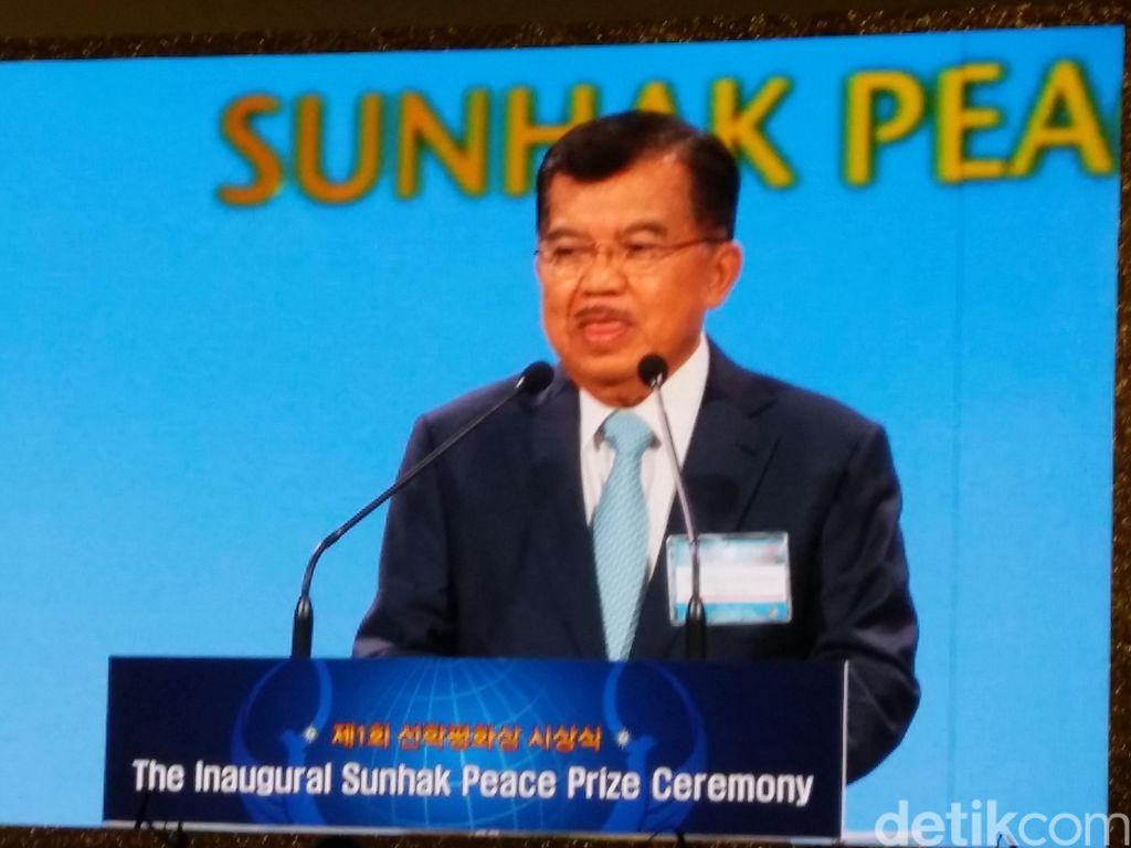 JK Bicara Soal Harmonisasi Antar Negara di World Peace Forum