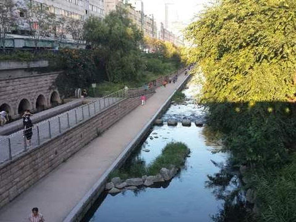 Seandainya Ciliwung Seperti ini, Bersih Seperti Sungai Ogansugyo di Kota Seoul