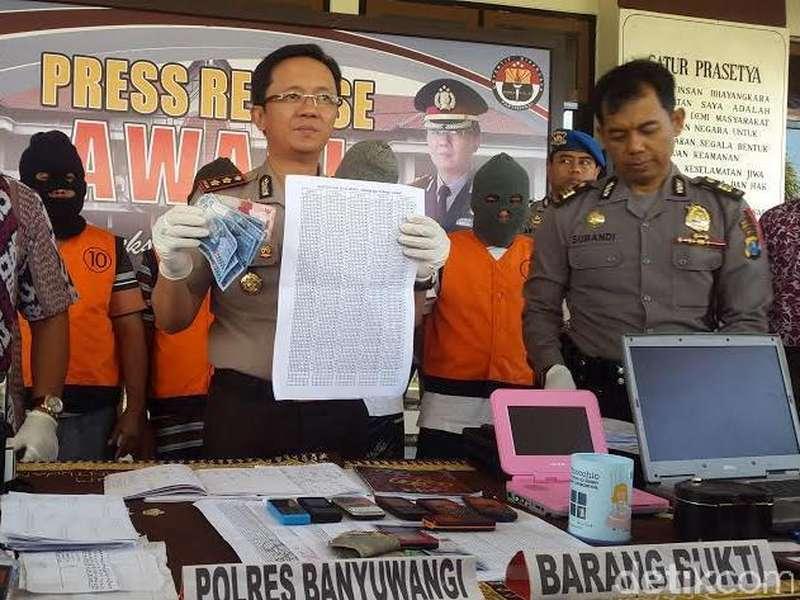 Bandar Judi Online Jaringan Bali Beromset Ratusan Juta Diciduk