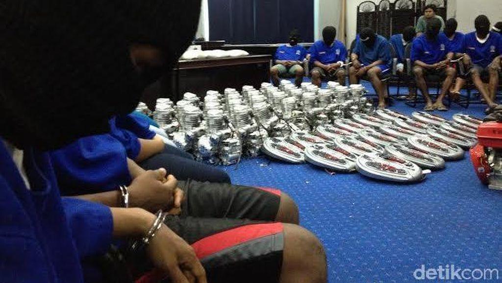 Sabu 103 Kg yang Coba Diselundupkan via Alat Pijat Berasal dari Nigeria