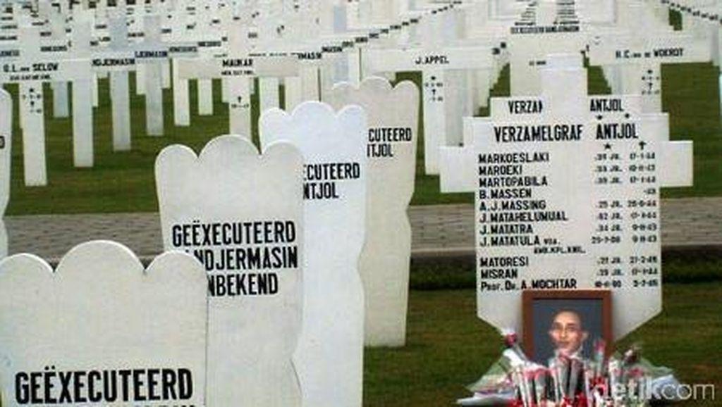 Terungkapnya Misteri Makam dr Achmad Mochtar di Pemakaman Belanda