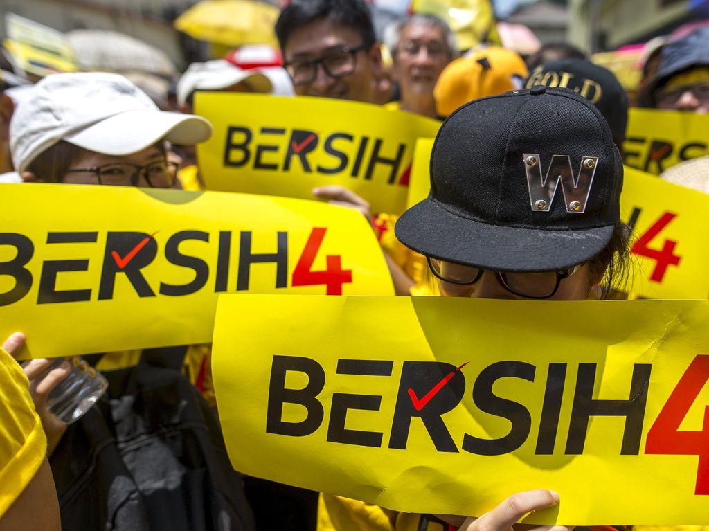 Demonstrasi Malaysia Jadi Trending Topik Dunia di Twitter
