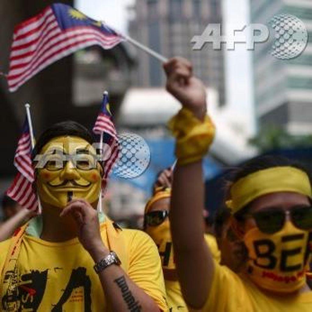 Polisi Malaysia Bantah Ada Penangkapan Aktivis Bersih 4.0