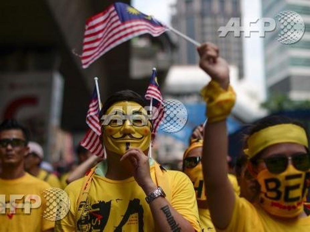 Sejarah Topeng Guy Fawkes Vendetta yang Jadi Ikon Demonstrasi