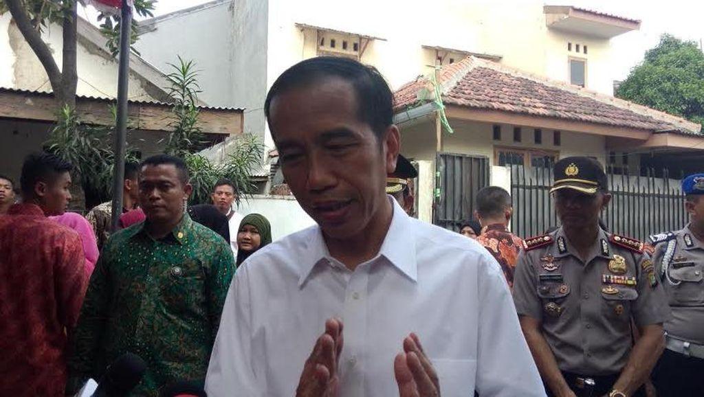 Ada Capim KPK Jadi Tersangka, Jokowi Tak Mau Intervensi Hukum