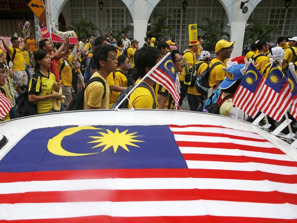 Demo Anti PM Najib, Kawasan Bukit Bintang KL Masih Kondusif