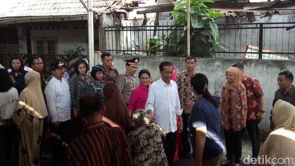 Setelah Blusukan di Kampung Rawa, Giliran Sawah Besar yang Didatangi Jokowi