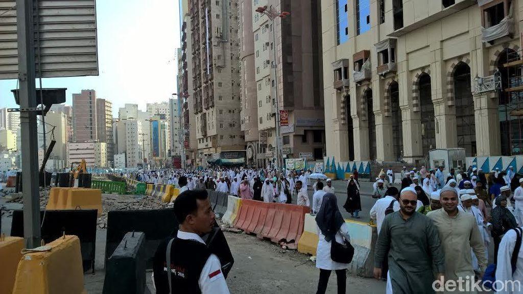 40.144 Jemaah Haji Indonesia Tiba di Madinah, 6 Orang Meninggal Dunia