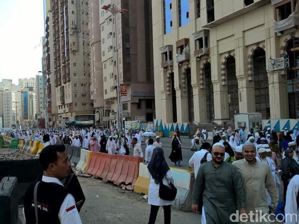 Besok 4.636 Jemaah Haji Indonesia Masuk ke Makkah