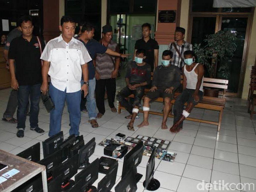 Komplotan Pencuri Komputer Sekolah di Semarang Ditangkap, 1 Tersangka Tewas