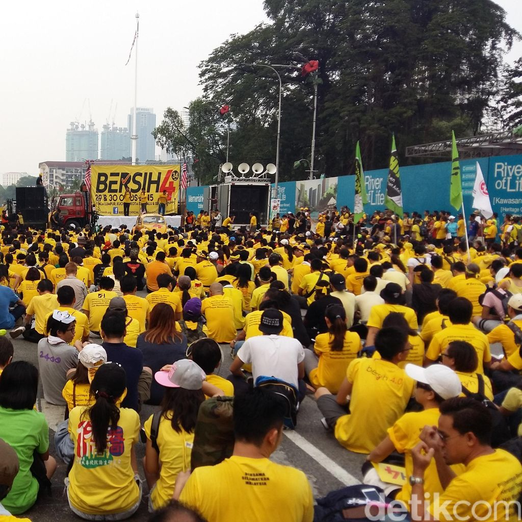 Dubes RI di Malaysia: Demonstrasi Anti Najib, Situasi Tetap Normal dan Aman