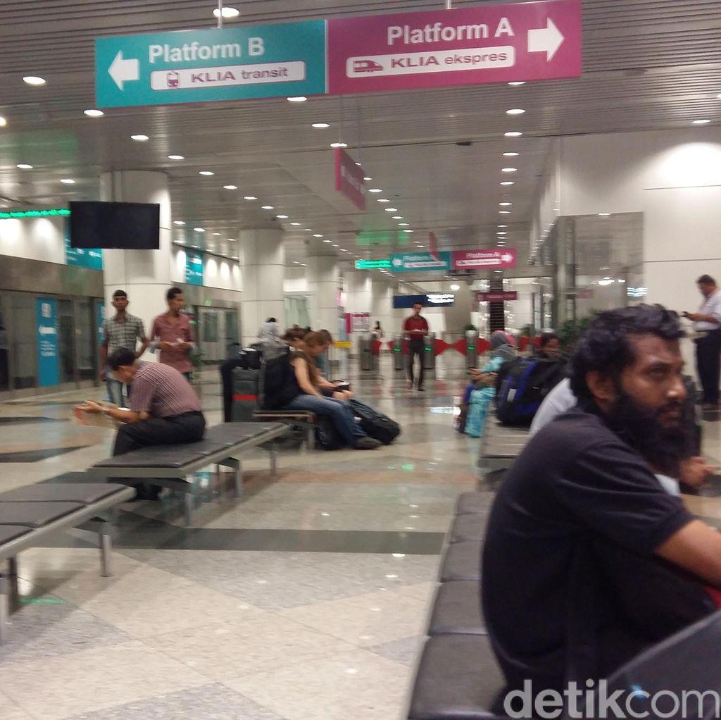 Meski Ada Demo Besar-besaran, Aktivitas Bandara Kuala Lumpur Normal