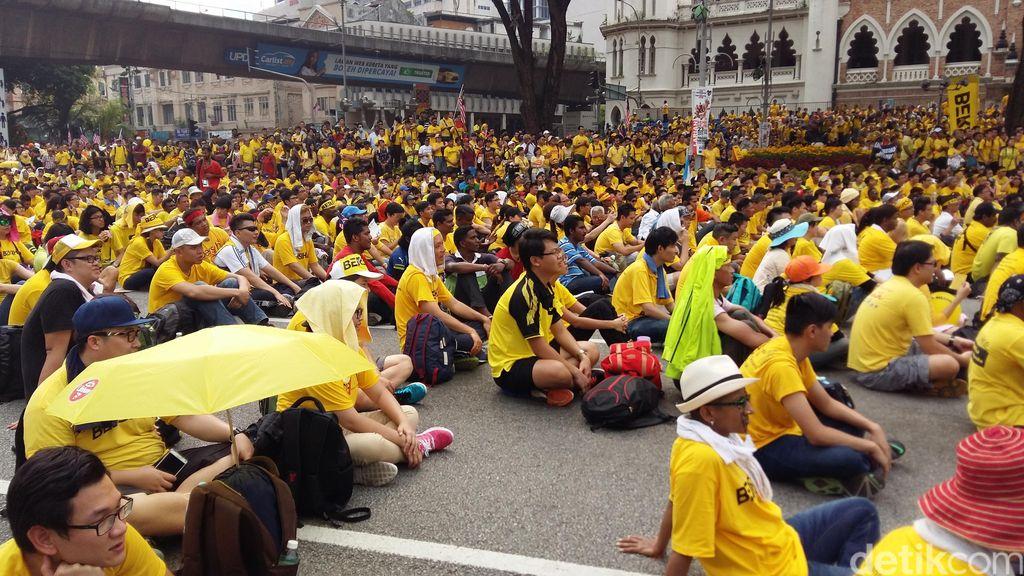 Warga Malaysia Berharap Pemerintahan Najib Dengar Aspirasi Aksi Bersih 4.0