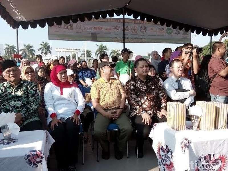 Incumben Wawali Surabaya Minta Doa Restu Mensos Khofifah