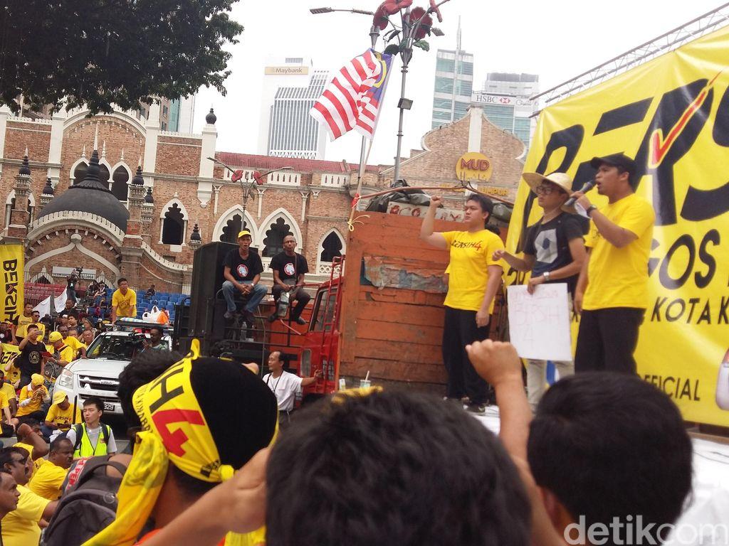 Bakar Semangat Demonstran, Mahasiswa Malaysia Ini Kutip Ucapan Sukarno