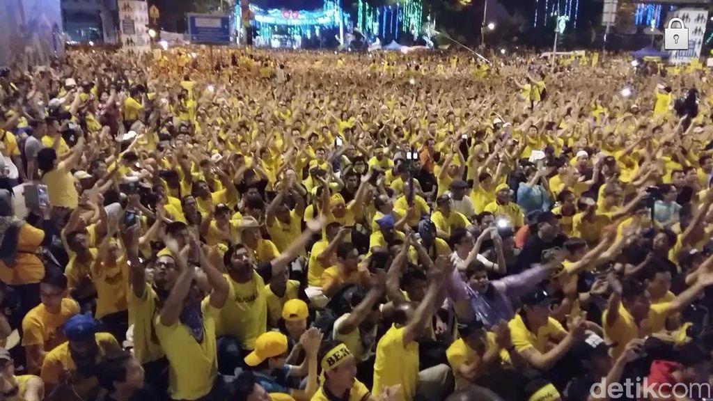 Meski Ada Unjuk Rasa Besar, JK Nilai Kondisi Malaysia Masih Aman untuk TKI
