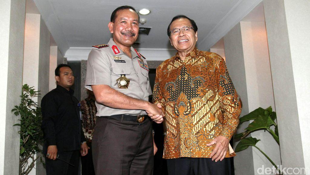 Kapolri dan Menko Rizal Siap Koordinasi untuk Tuntaskan Kasus Dwell Time
