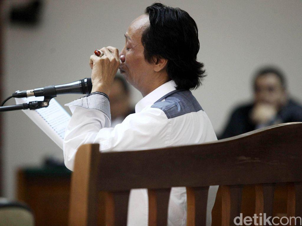 Jaksa Minta Hakim Tipikor Abaikan Eksepsi Mandra