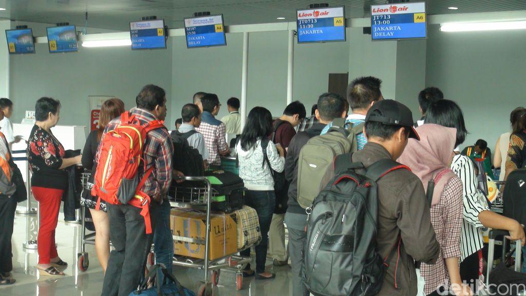 Bandara Supadio Pontianak Lumpuh 4 Jam Gara-gara Asap Kebakaran Lahan