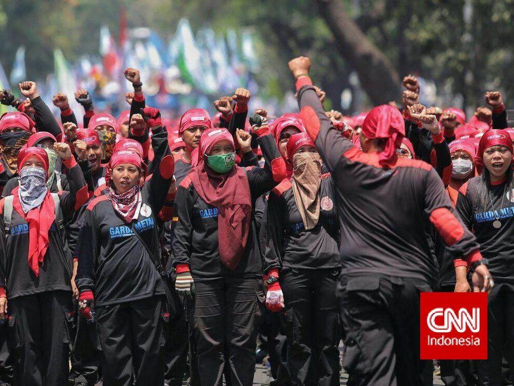 Perwakilan Buruh akan Diterima 5 Menteri di Kantor Menko Luhut