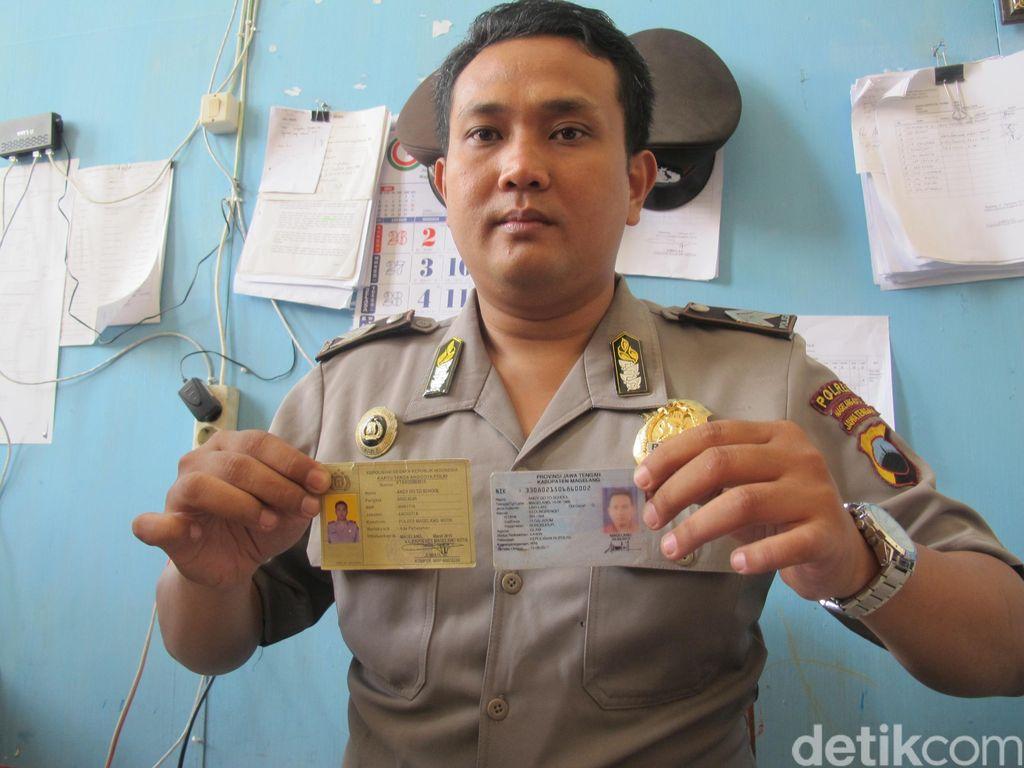 Polisi ini Bernama Andy Go To School, Nama 2 Saudaranya Juga Tak Biasa
