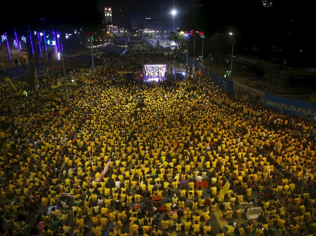 Usai Demo Bersih, Malaysia Tagih Biaya Pembersihan Rp 220 Juta