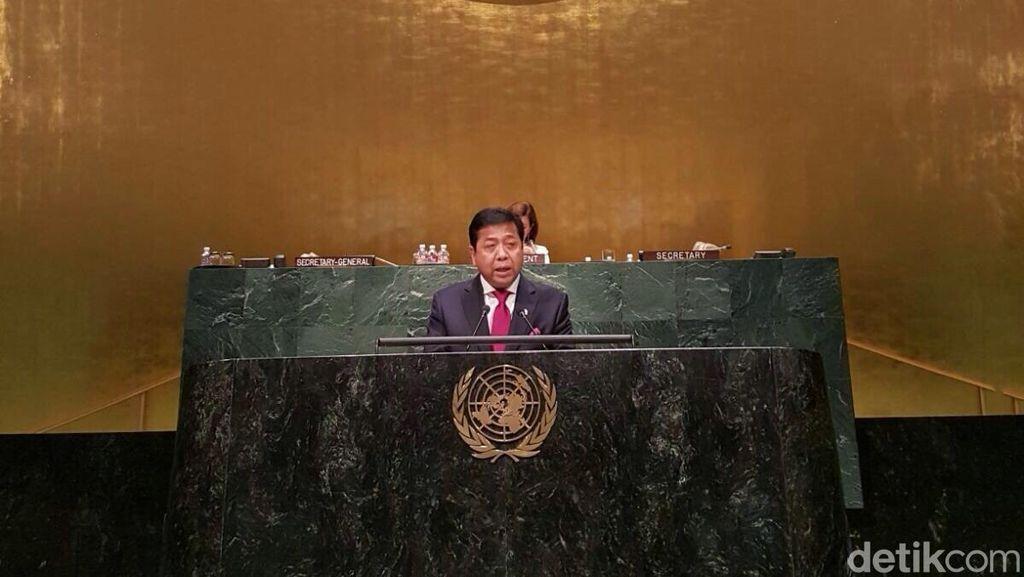 Pidato di New York, Ketua DPR: PBB Harus Direformasi