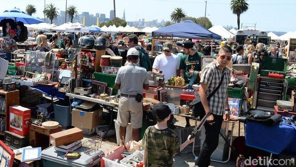 Serunya Blusukan di Pasar Loak San Francisco
