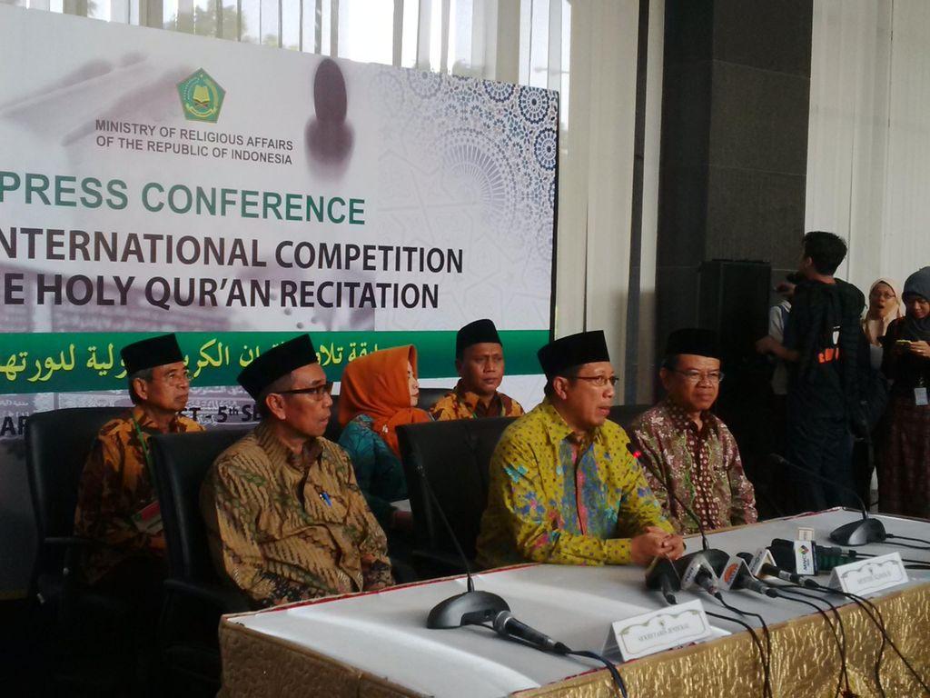 Buka Ajang MTQ Internasional, Menag Optimis Qari Indonesia Bisa Bersaing