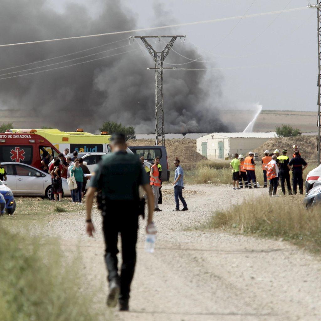 Ledakan di Pabrik Kembang Api Spanyol Tewaskan 5 Orang