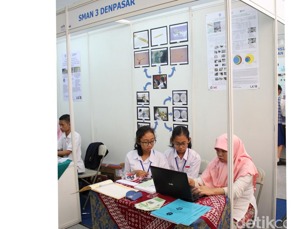 Alga Hijau Antiobiotik Racikan Siswi SMA di Bali