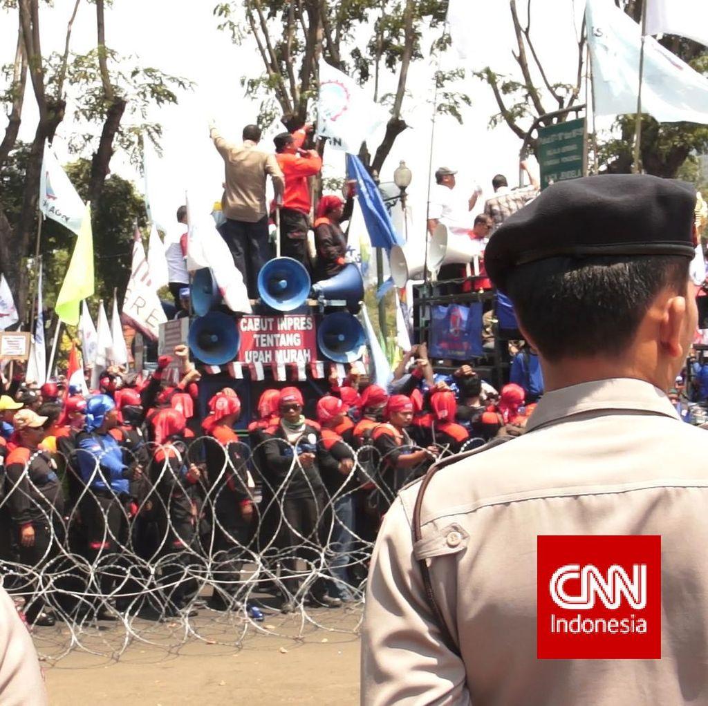 Buruh Minta Polisi Buat Unit Khusus Tangani Kasus Buruh ke Kapolda Tito