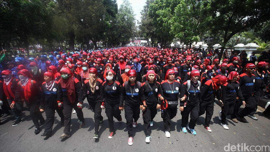Ini Jawaban Pemerintah Soal Tuntutan Kenaikan Upah Buruh