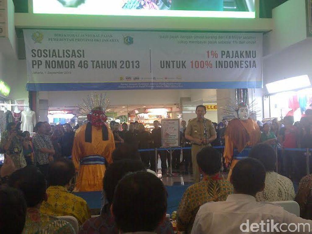 Ahok: Banyak Pedagang Tanah Abang Nggak Punya NPWP karena Takut