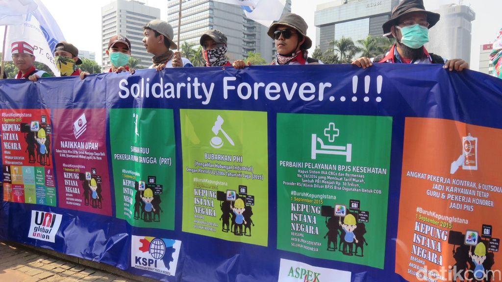 Pimpinan DPR: Demo Buruh itu Hak, Tapi Harus Terkendali