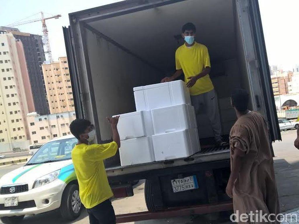 Pemerintah Putus Kontrak 1 Penyedia Katering di Madinah