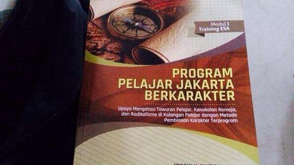 Ini Penjelasan Yayasan Al Kahfi Soal Buku Pelajar Jakarta Berkarakter