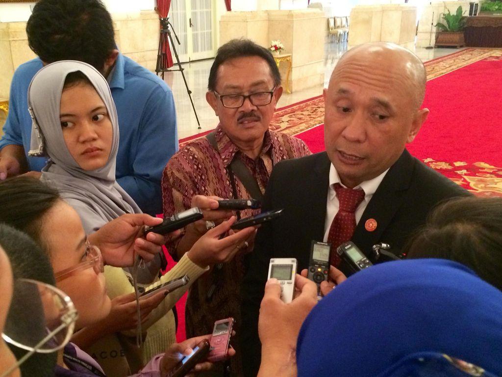 Teten Masduki, Aktivis ICW yang Masuk Ring 1 Istana