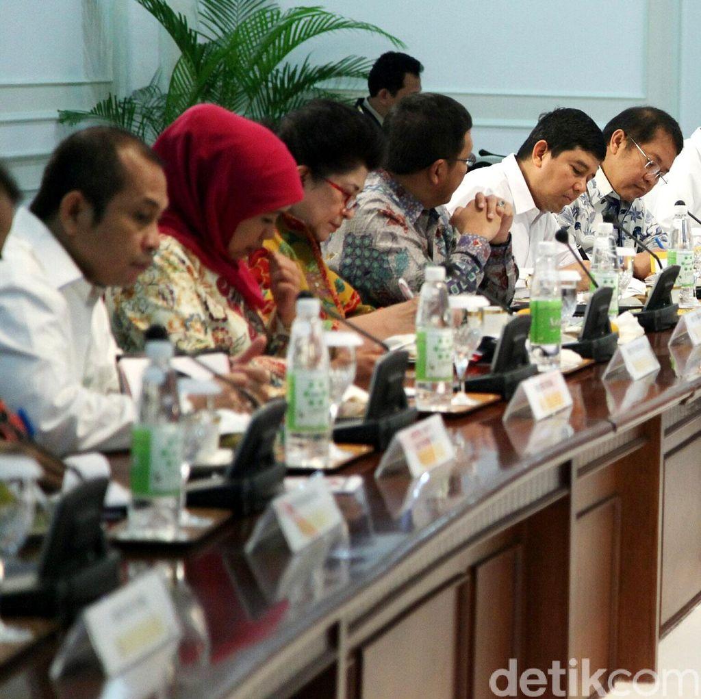 Menteri-menteri yang Dipanggil Jokowi untuk Dievaluasi Jelang Reshuffle