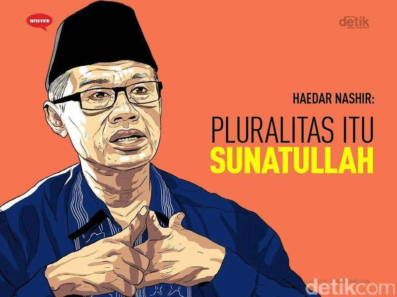 Ketum Muhammadiyah Haedar Nashir: Pluralitas Itu Sunatullah