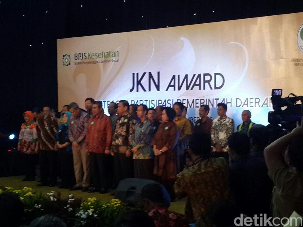 12 Daerah Terpilih Menerima Penghargaan JKN