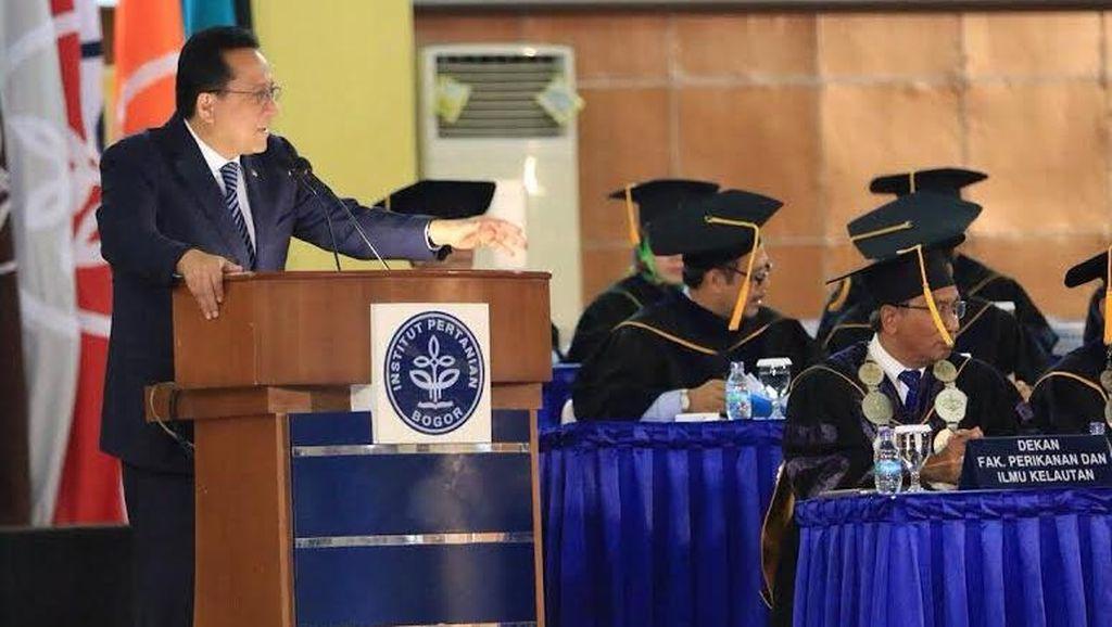 Orasi di IPB, Ketua DPD Bicara Soal Kejayaan Maritim Indonesia